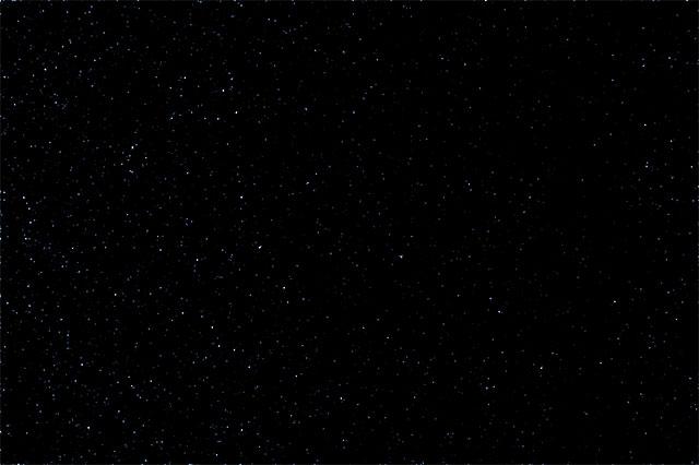 Эффект после окраски звезд.