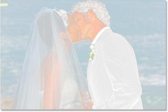 Изображение в окне документа с примененной маской.