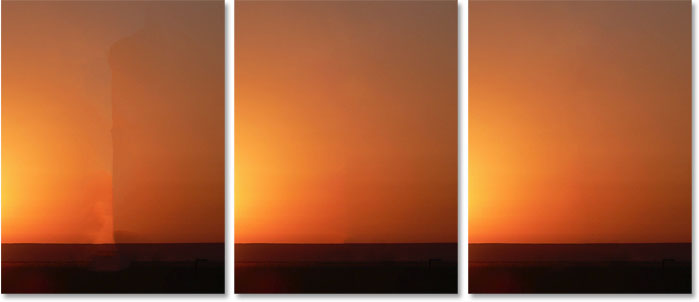 Сравнение результатов цветовой адаптации в пространстве задач Content-Aware Fill в Photoshop CC 2019