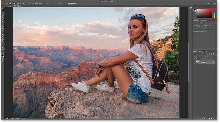 Фотография, размер которой будет изменен для электронной почты и Интернета в Photoshop.  Фото предоставлено: Adobe Stock