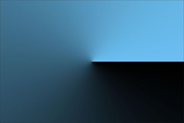 Стиль угла оборачивает градиент вокруг начальной точки против часовой стрелки.