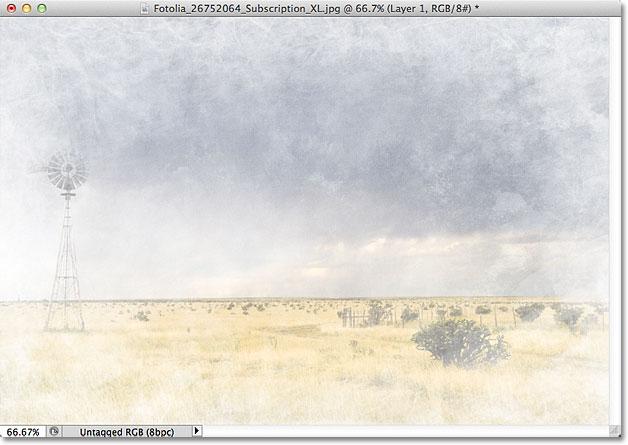 Изображение после инвертирования текстуры.
