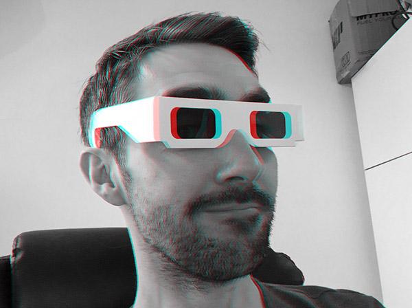 Крис в 3D-очках
