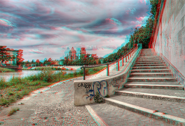 3D анаглиф фотография