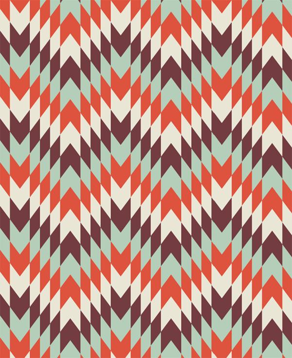 Геометрический рисунок в Adobe Illustrator