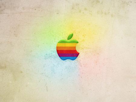 Ретро Apple обои