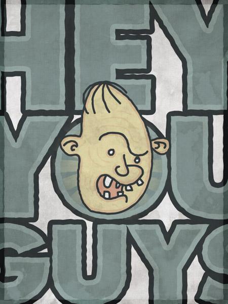 Ленивец мультфильм плакат