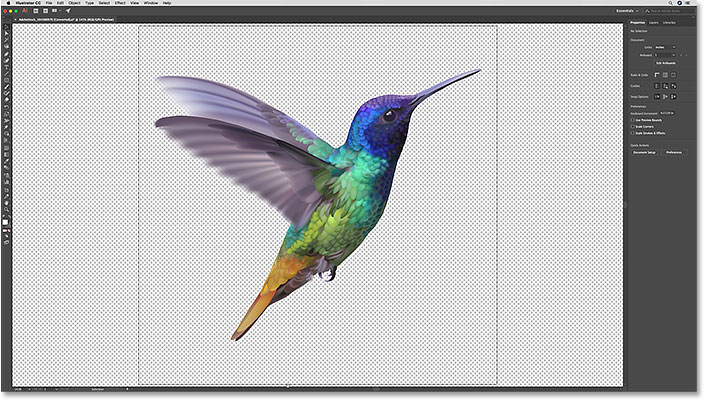 Векторный рисунок в Illustrator, который будет вставлен в Photoshop как смарт-объект