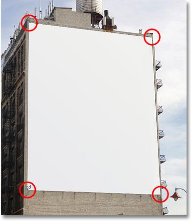 Рисование выделения с помощью инструмента Polygonal Lasso Tool в Photoshop.