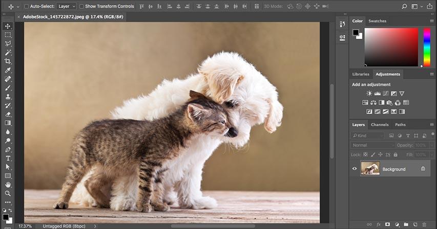 Изучение интерфейса Photoshop - Полное руководство
