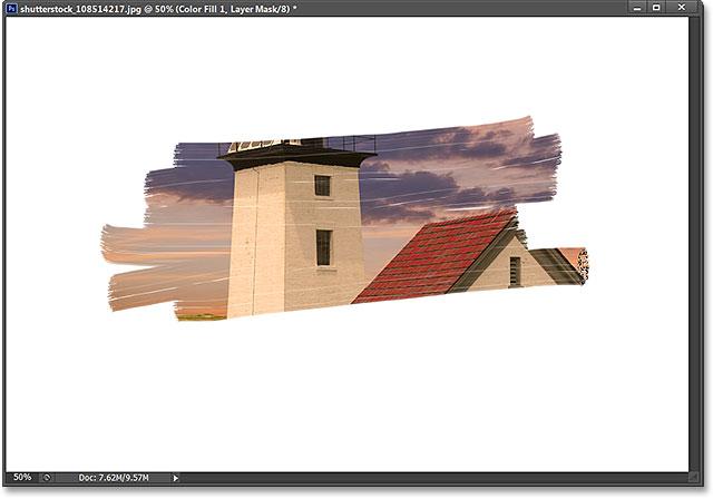 Образцы цветов переднего плана и фона на панели «Инструменты».