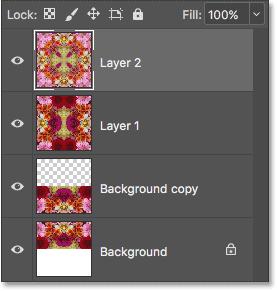 Все три слоя теперь объединены в Layer 2.
