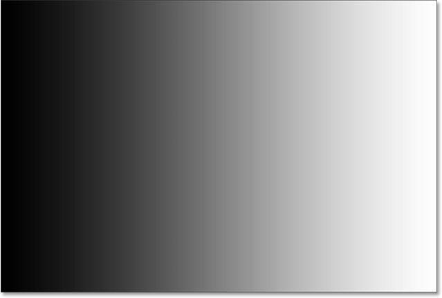 После установки новой белой точки правая сторона градиента теперь белая.