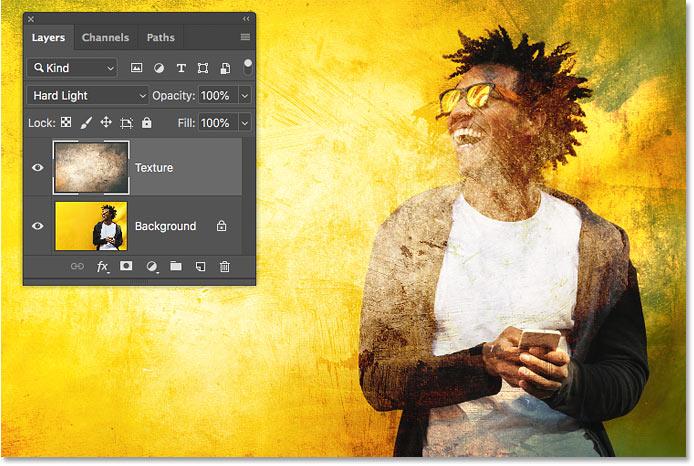 Как переключаться между режимами наложения слоев с клавиатуры с помощью Photoshop CC 2019