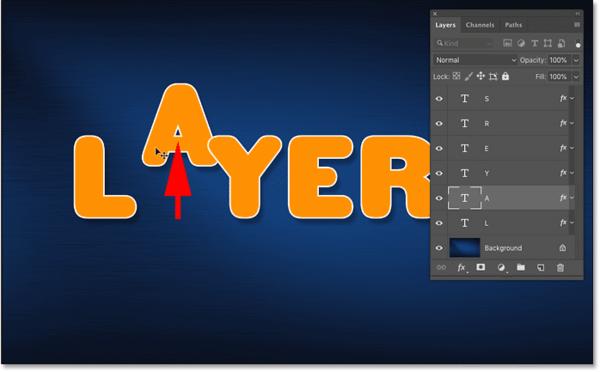 Автоматический выбор и перемещение неправильного содержимого по ошибке в Photoshop