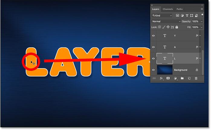 Как автоматически выбрать слой в Photoshop