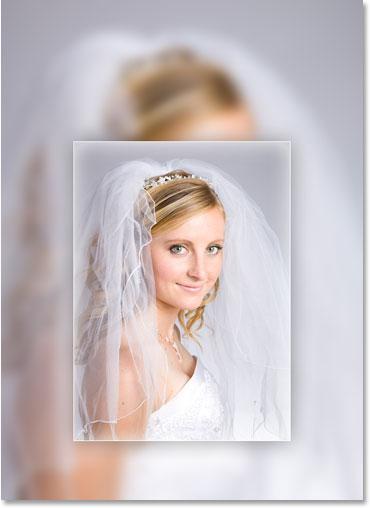 Изображение после применения фильтра Gaussian Blur в Photoshop.