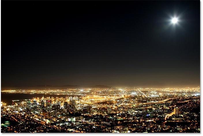 Исходное изображение, к которому будут добавлены звезды в Photoshop.  Фото предоставлено: Adobe Stock
