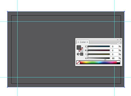 Процесс дизайна визитной карточки
